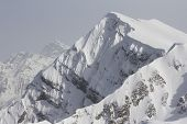 The mountains in Krasnaya Polyana. Sochi - capital of Winter Olympic Games 2014. Russia.