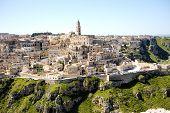 Matera Ancient City Panoramic View, Italy
