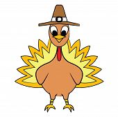 A Turkey!!!! Vector eps10