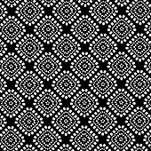 black and white geometrical pattern background