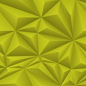 Yellow Abstract Polygon Background Tile