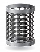Dustbin Vector Illustration