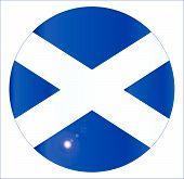 Scotish Flag Button