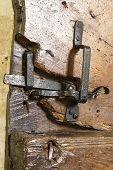 Very Old Door Latch
