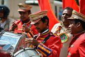 Hindu Music On The Streets Of Kathmandu, Nepal