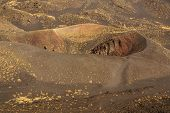 Etna Volcano Craters In Sicily, Italy