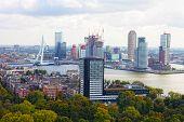 City views Rotterdam