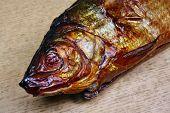 Whitefish Fish Head