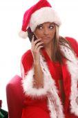Sexy Mrs Santa Cellphone