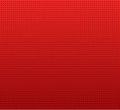 perforated red material background