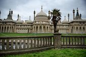 BRIGHTON, UK - APRIL 05: Royal Pavilion Landmark in Brighton, UK on April 05th, 2014.
