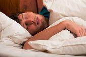 Young Man Sleeping