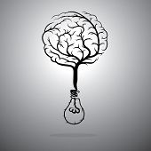 Idea and the brain.