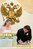 The Groom Make The Signature