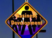 Business Development Sign