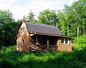 Een huis van het land