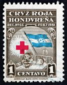 Postage Stamp Honduras 1945 Mother And Child