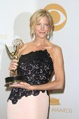 LOS ANGELES - SEP 22: Anna Gunn in the press room during the 65th Annual Primetime Emmy Awards held at Nokia Theater L.A. Live on September 22, 2013 in Los Angeles, California
