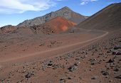 Sliding Sands Trail in Haleakala National Park, Maui Hawaii, USA