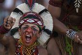 Cuiaba - Brazil November 14, 2013 - Brazil, Brazil Indigenous Games.
