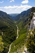 The Verdon Gorge In South-eastern France