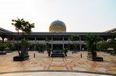 Courtyard of Sultan Abdul Samad Mosque (KLIA Mosque)
