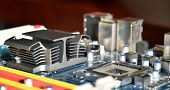 Computer Mainboard Detail
