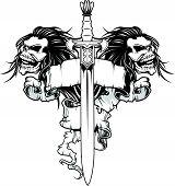 Skull And Warrior Sword