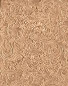 Tooled Leather Background
