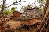 Houses Of Tribe Konso