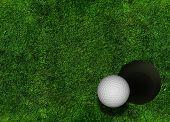 Golf Grassy Background