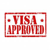 Visa Approved-stamp