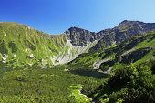 Slovakia Mountain Lake - Rohacske Plesa, West Tatras