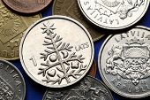 picture of lats  - Coins of Latvia - JPG