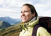 Portrait of a Hiker, Queenstown, New Zealand