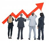 Group of Business People on Economic Recovery