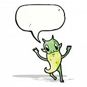 imp with speech bubble