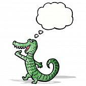 hungry alligator cartoon