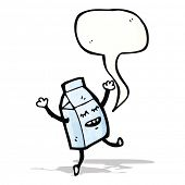 milk carton cartoon character