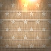 eps10 vector wood, star elements concept background