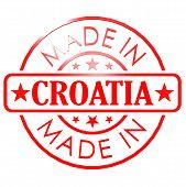 Made In Croatia Red Seal