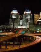 Cincinnati, Ohio At Night