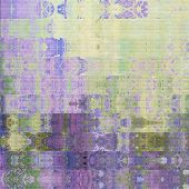 art abstract geometric horizontal stripes pattern textured background in lilac and green colors