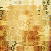 art abstract geometric horizontal stripes pattern background in beige and brown colors