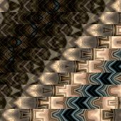 art abstract geometric horizontal stripes pattern background in black, beige and grey colors