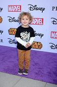 LOS ANGELES - OCT 1:  Ocean Maturo at the VIP Disney Halloween Event at Disney Consumer Product Pop Up Store on October 1, 2014 in Glendale, CA