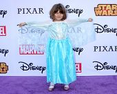 LOS ANGELES - OCT 1:  Natalia Scout Lee Stafford at the VIP Disney Halloween Event at Disney Consume