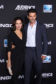 LOS ANGELES - OCT 1:  Wendy Moniz, Frank Grillo at the