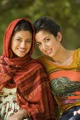 pic of dupatta  - Portrait of multi - JPG