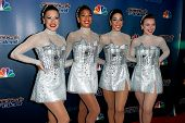NEW YORK-SEP 17: The Rockettes pose at the post-show red carpet of America's Got Talent: The Finale Season 9 at Radio City Music Hall on September 17, 2014 in New York City.